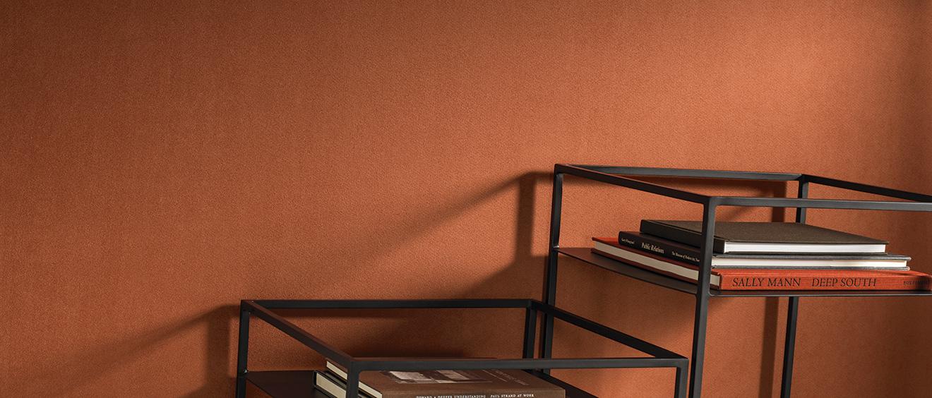 HP revêtement mural acoustique uni textile Eos color - Texdecor